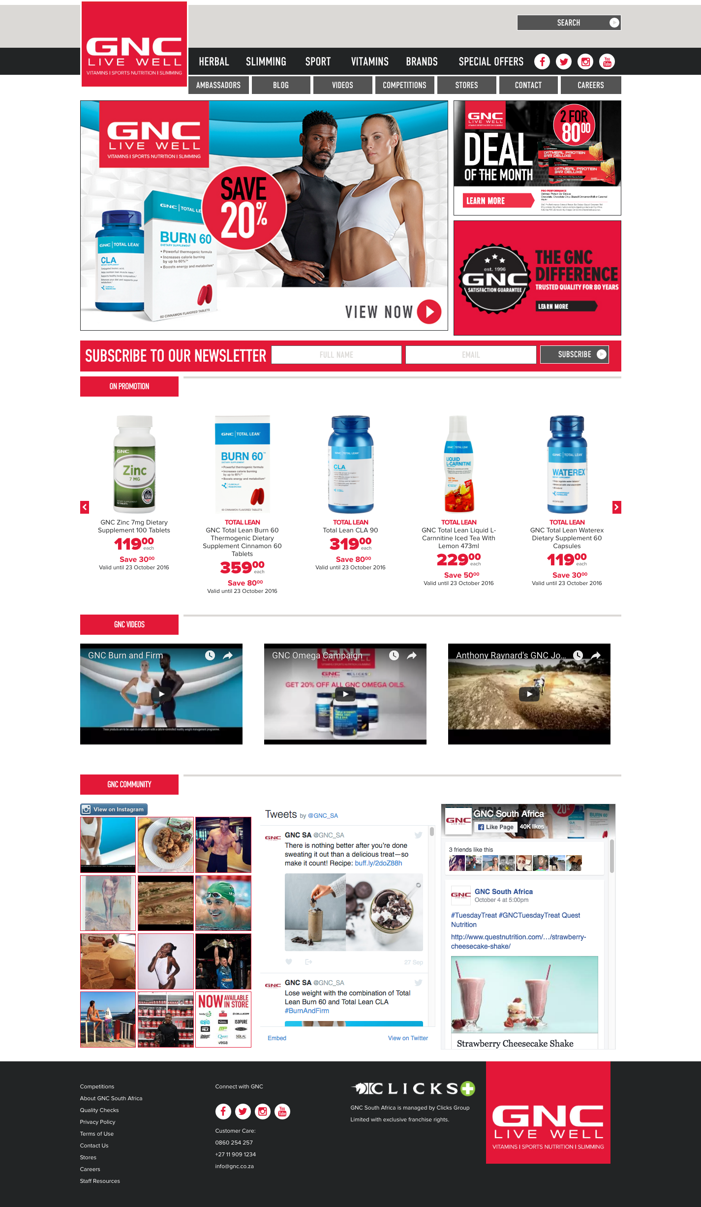 GNC Home Page